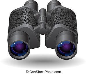 圖象, 為, 雙筒望遠鏡