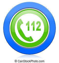 圖象, 簽署, 電話, 緊急事件,  112