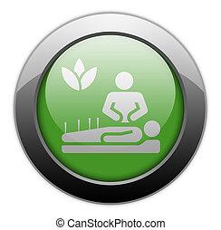圖象, 醫學, 選擇, 按鈕, pictogram
