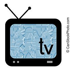 圖象, 電視