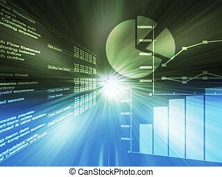 圖, 電子數据表