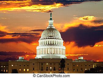 團結, 州議會大廈, 國家, 建築物