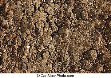 土壌, 手ざわり