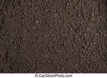 土壌, 手ざわり, 背景