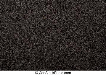 土壌, 黒, 手ざわり