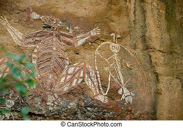 土著居民, 岩石艺术