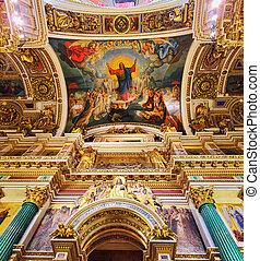 圣徒, isaac's, 大教堂, 在中, 圣彼得堡, russia