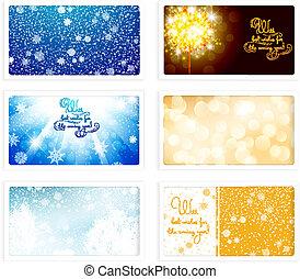 圣誕節和新年, ecards