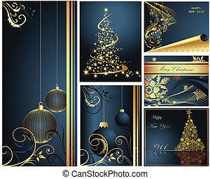 圣诞快乐, 同时,, 高兴的新年