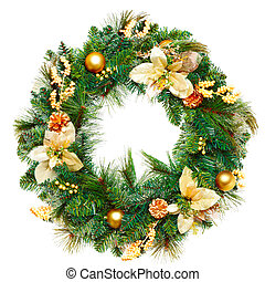 圣诞节, garland.