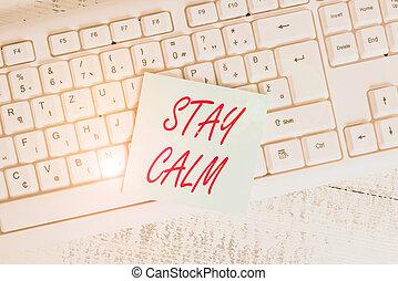 圧力, 維持しなさい, 提示, オフィス, 州, 形, 動き, 執筆, 手, 下に, ビジネス, さらに, wood...