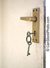 在中的鑰匙, a, 門