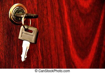 在中的鑰匙, the, 鎖