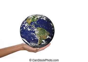 在手中的世界