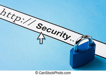 在網上, 安全