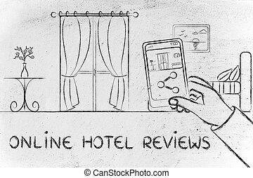 在網上, 旅館, 回顧, 分享, the, 相片, ......的, a, 房間, 上, 他的, 流動