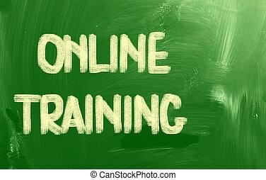 在網上, 訓練, 概念