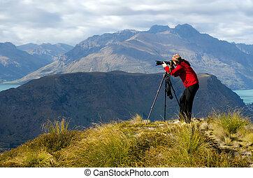 在 地點, 攝影師