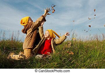 地の精, 黄色, 帽子