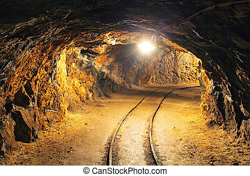地下のトンネル, 鉱山, 産業, 私の