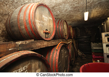 地下室, ワイン