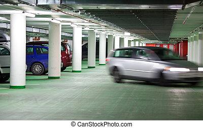 地下, parking/garage
