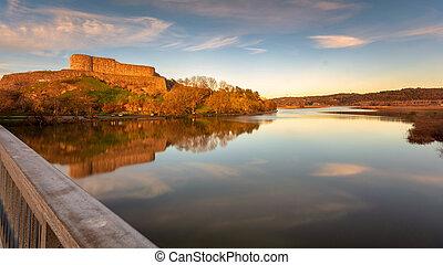 地位, 城砦, 最後, bohus, スウェーデン, ar, kungalv, 台なし, gothenburg