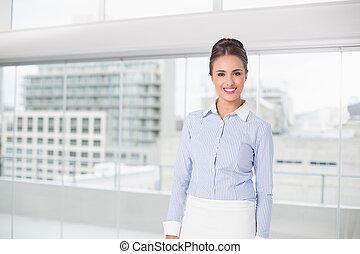 地位, 女性実業家, 微笑