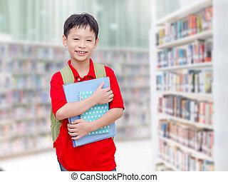 地位, 学校学生, 図書館