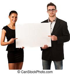 地位, invite., image., ビジネス, 大きい, 恋人, 次に, 確信した, 板, ブランク, 概念, 宣伝しなさい, ∥あるいは∥