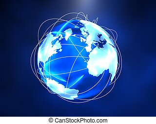 地図帳, 世界的である, -