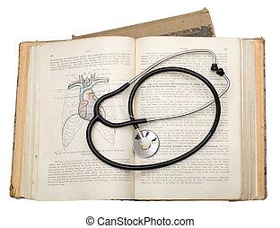 地図帳, 解剖学, phonendoscope