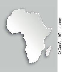 地図, アフリカ