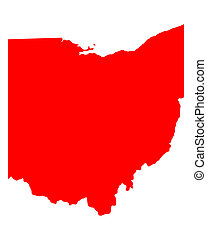 地図, オハイオ州