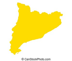 地図, カタロニア