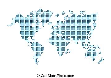 地図, スタイル, ), (, 世界, ピクセル