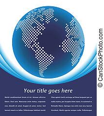 地図, デジタル世界, design.