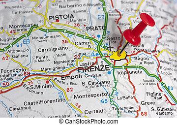 地図, フィレンツェ