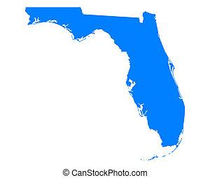 地図, フロリダ