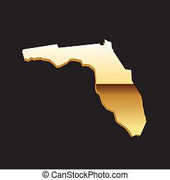 地図, フロリダ, 金