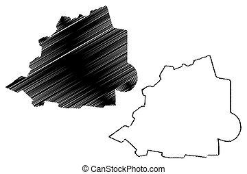 地図, ベクトル, バチカン