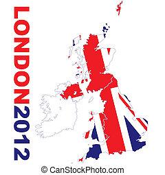 地図, ロンドン, 2012