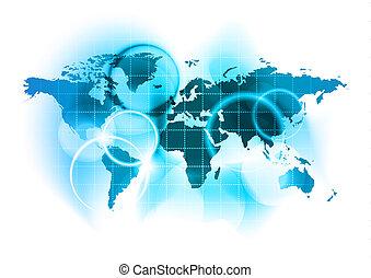 地図, 世界
