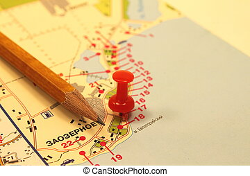 地図, 印