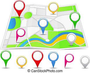 地図, 抽象的