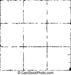 地図, 格子, 第3