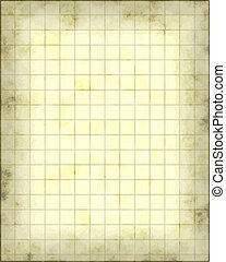 地図, 羊皮紙
