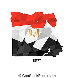 地図, egypt.