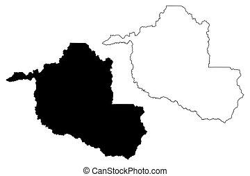 地図, rondonia