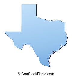 地図, texas(usa)